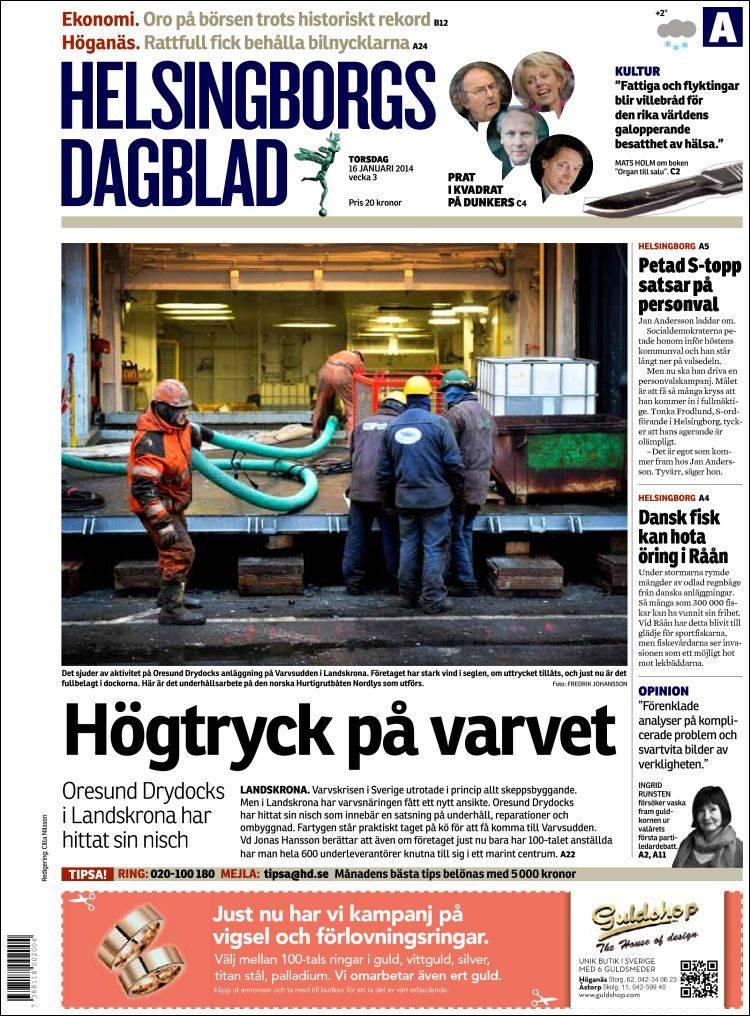 Landskrona satsar norskt