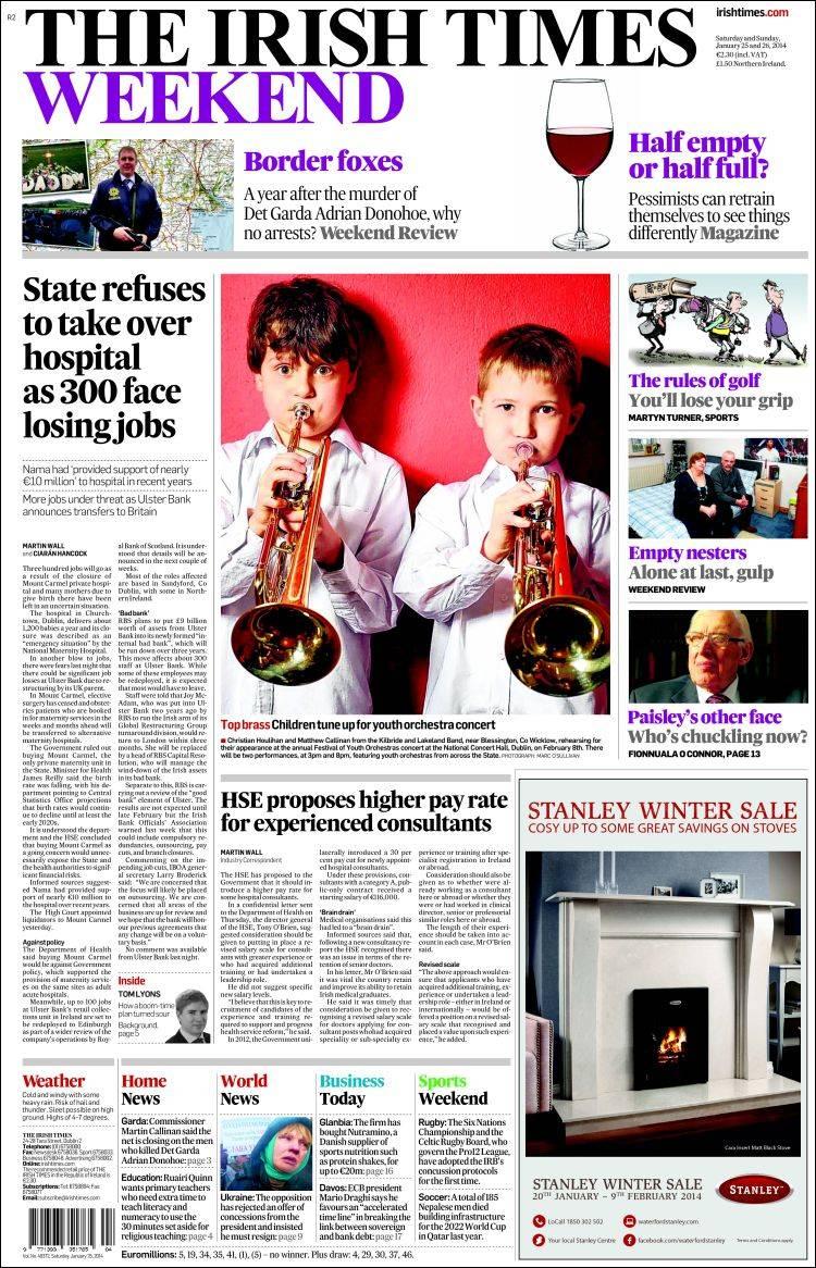 irish papers