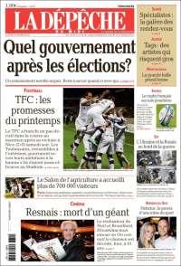 La Dépêche du midi version Hautes Pyrénées du 03-03-2014