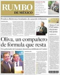Portada de Rumbo de México (México)