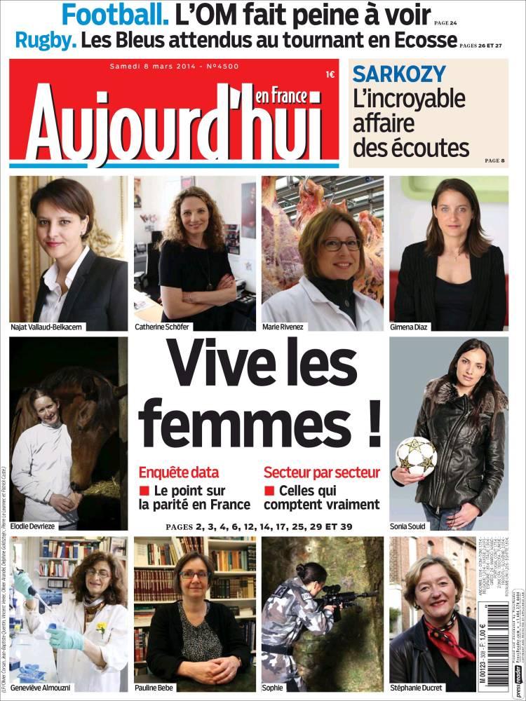 newspaper aujourd 39 hui en france france newspapers in france today 39 s press covers. Black Bedroom Furniture Sets. Home Design Ideas