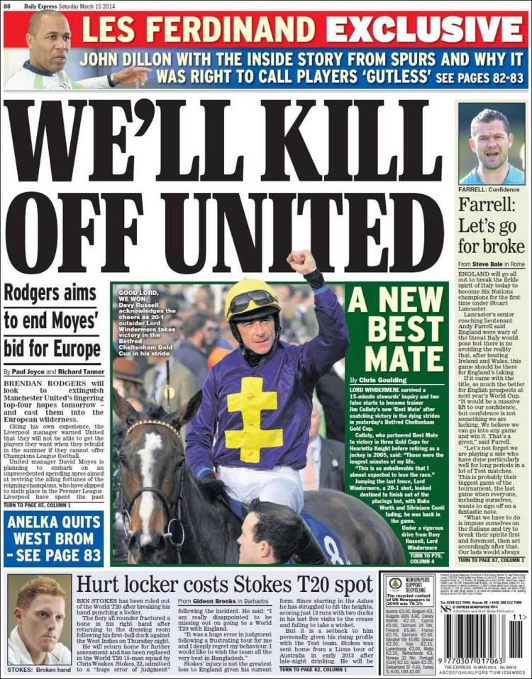 Portada de Express Sport (United Kingdom)