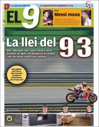 Portada de El 9 (España)