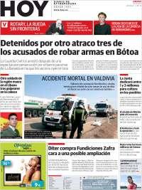 Portada de Hoy - Badajoz (España)