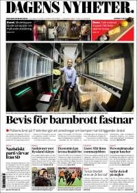 Portada de Dagens Nyheter (Suecia)