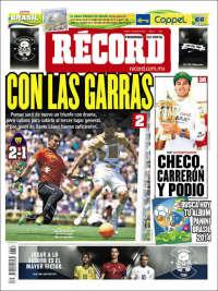 Portada de Record - Guadalajara (México)
