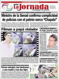 Portada de Diario La Jornada (Paraguay)