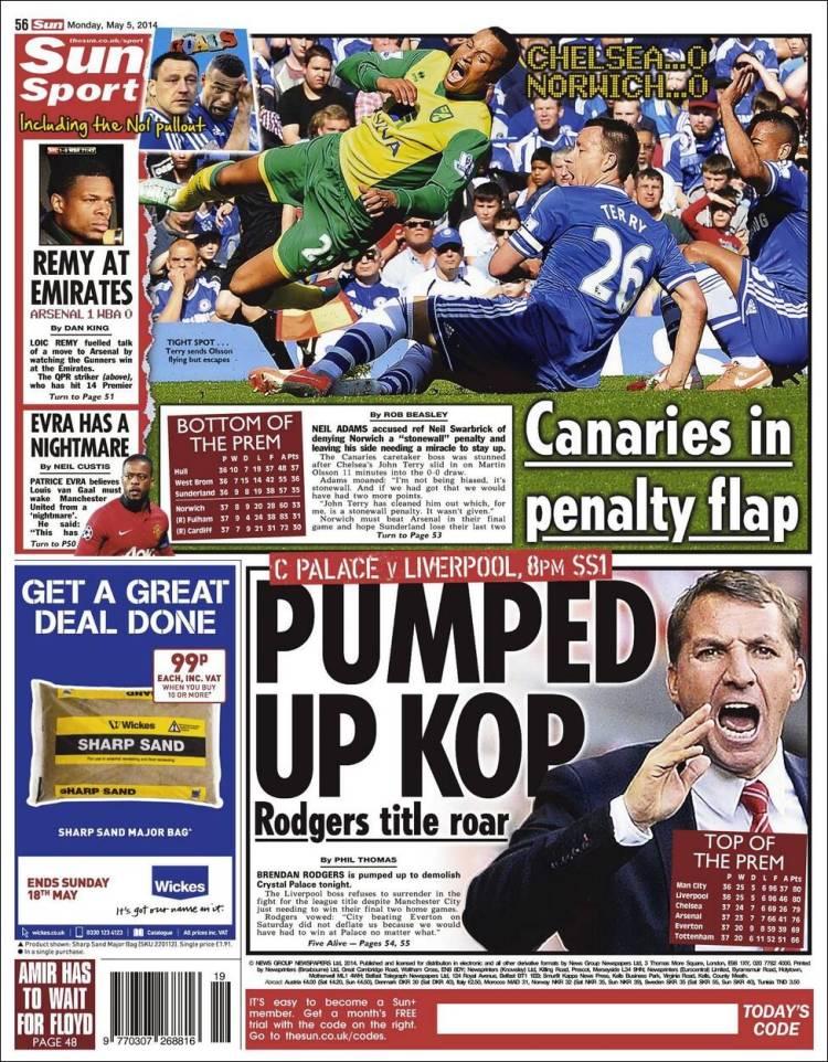 Portada de Sun Sport (United Kingdom)
