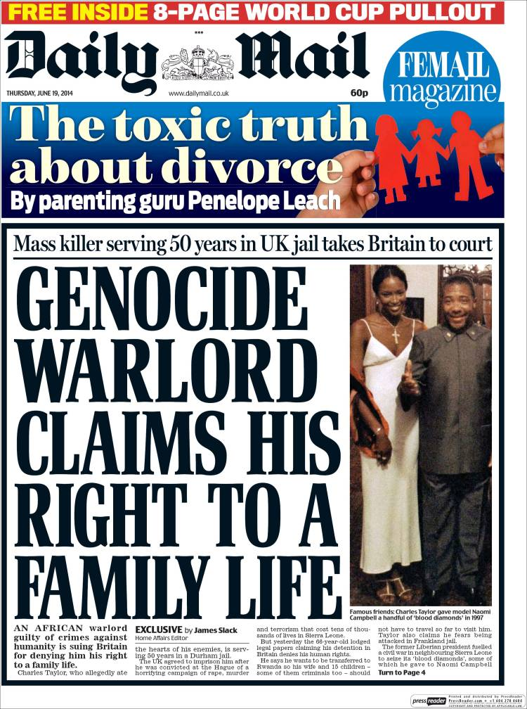 Uk daily mail