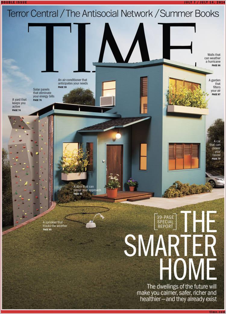 Portada de Time Magazine (Europa)