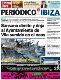 Portada de Última Hora - Ibiza (España)
