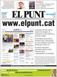 Portada de El Punt - Valencia (España)