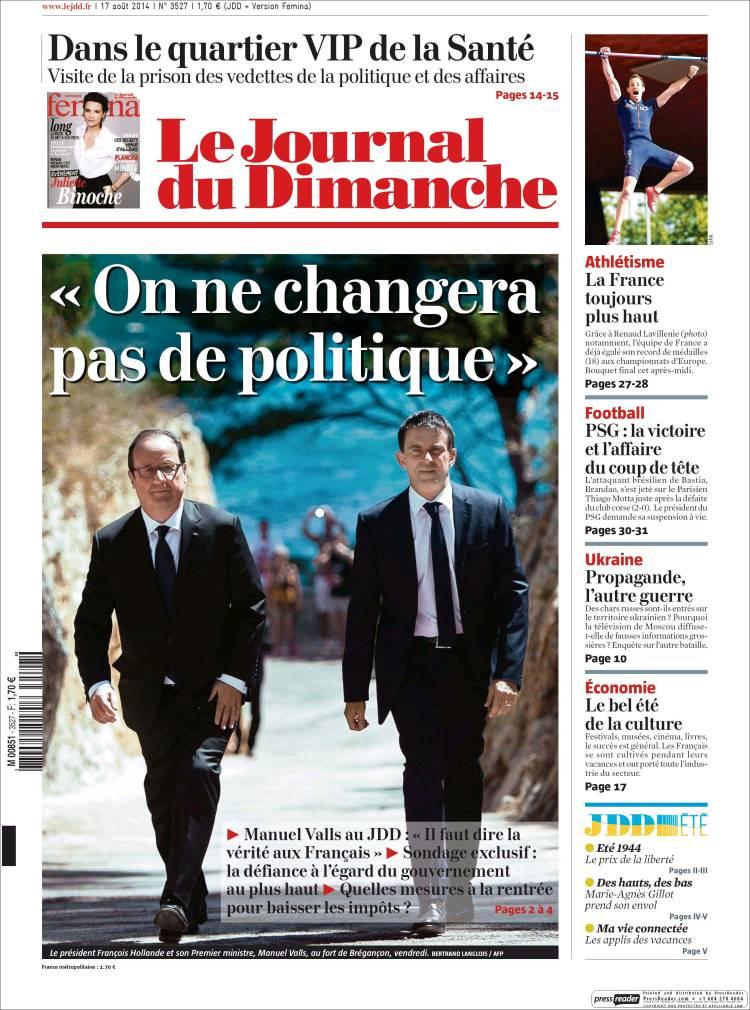 les journaux francais
