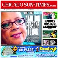 Portada de Chicago Sun-Times (USA)