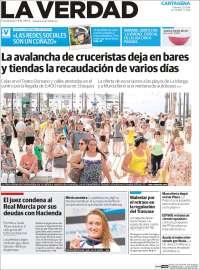 Portada de La Verdad de Cartagena (Spain)
