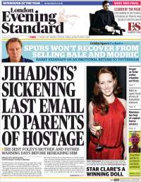 Portada de Evening Standard (United Kingdom)