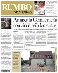 Portada de Rumbo de México (Mexico)