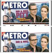 Portada de Metro (Reino Unido)