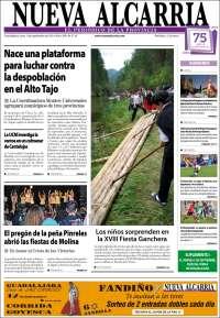 Portada de Nueva Alcarria (España)