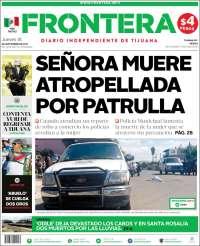 Portada de Frontera (México)