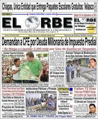 Portada de El Orbe (México)