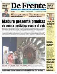 Portada de De Frente - Barinas (Venezuela)