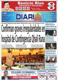 Portada de El Diario del Cusco (Perú)