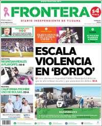 Portada de Frontera (Mexico)