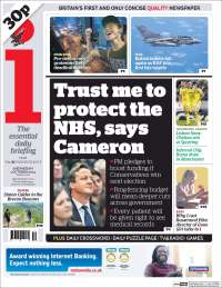 Portada de The i (United Kingdom)