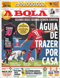 Portada de A Bola (Portugal)