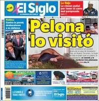 Portada de El Siglo (Panamá)