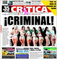 Portada de La Crítica Libre (Panama)