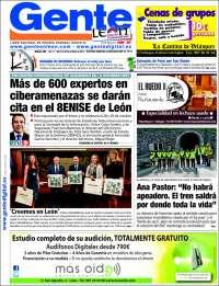 Portada de Gente en León (Spain)