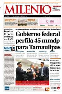 Portada de Milenio - Tamaulipas (Mexico)