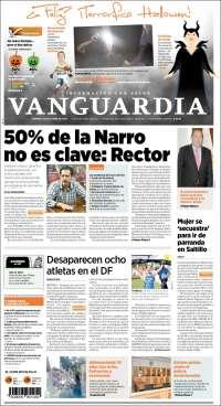 Portada de Vanguardia (México)
