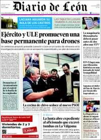 Portada de Diario de León - Bierzo (España)
