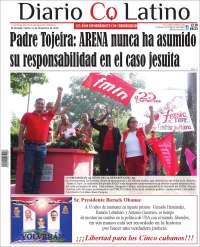 Portada de Diario Co Latino (El Salvador)