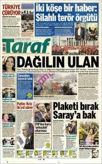 Portada de Taraf  (Turkey)