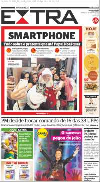 Portada de Extra (Brasil)